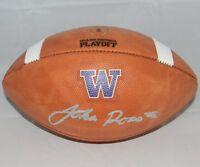 JOHN ROSS SIGNED AUTOGRAPHED WASHINGTON HUSKIES WILSON NCAA PLAYOFF FOOTBALL JSA