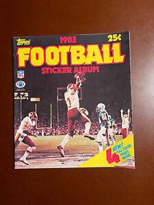1983 Topps NFL Football Sticker Album