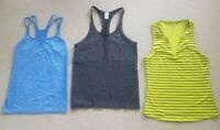 Workout  Athleisure Top Shirt Womens Small Nike Champion New Balance Lot of 3 Ex
