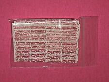 "Supertape 1""X 3""Straight Strips Double Sided Tape 36 Pieces ~Lace Wigs,Toupee,Ha"