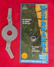 WEEDWAKKA HEAVY DUTY BRUSHCUTTER BLADE FOR GRASS AND WOODY WEEDS, STIHL, HONDA