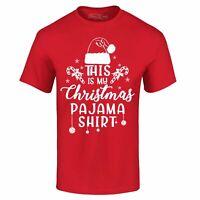 This Is My Christmas Pajama Shirt T-shirt Funny Christmas Shirts