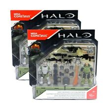 New Mega Construx Halo UNSC Marines Customizer Pack (LOT OF 2)
