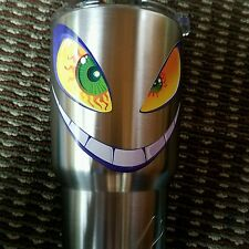 Decal/Sticker for Cooler Cup Evil Smile