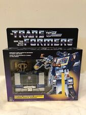 Transformers G1 Soundwave & Buzzsaw Reissue In Mint Condition