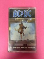 AC/DC Blow Up Your Video 818284 Cassette Tape