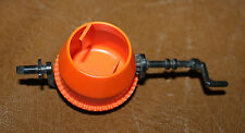Playmobil pièce détachée vintage bétonnière orange chantier 3207 ref jj