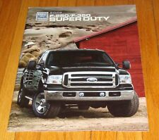 Original 2006 Ford Truck F-250 F-350 Super Duty Sales Brochure