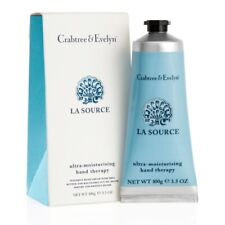 """Crabtree & Evelyn """"LA SOURCE"""" Ultra Moisturising Hand Therapy 3.5 oz. New in box"""