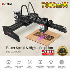 7000mW 2 Axis High Speed USB Laser Cutter Engraver DIY Engraving Printer Machine