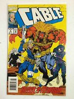 Cable #4 Comic Book Marvel 1993
