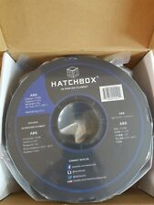 HATCHBOX ABS 3D Printer Filament - 1 kg Spool - 1.75 mm - True Blue - Sealed