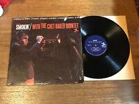 Chet Baker Quintet LP in Shrink - Smokin' - Prestige PR 7449 Van Gelder Stereo