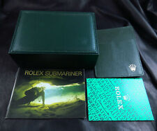GENUINE SWISS ROLEX SUBMARINER 16610 16613 16600 MEN WATCH BOX/W BOOK & GUARANTE