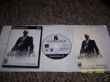 Hitman 2: Silent Assassin (PlayStation 2) complete ps2