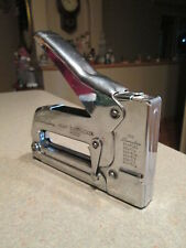 "Vintage Swingline Heavy-Duty Tacker #800 Staple Gun ""Chrome"" Made in USA"