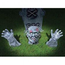Interruptor de tierra Zombie Halloween Decoración de exteriores de césped cementerio Accesorio