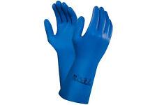 Ansell Virtex 79-700 Nitril Arbeitshandschuhe Blau Gr. 7