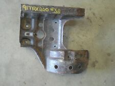 honda trx200 fourtrax trx200d rear back axle skid plate guard 1990 91 92 93 end