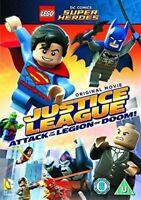 Lego Dc Justice League Ataque Of The Legion Of Doom DVD Nuevo DVD (1000577773)