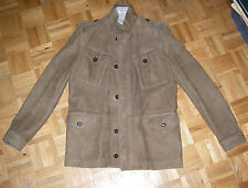 ELIE TAHARI MILITARY STYLE LEATHER JACKET MADE IN ITALY $1200 MEDIUM TO LARGE