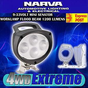 NARVA LED MINI SENATOR WORKLAMP FLOOD BEAM WORK SITE CAMPING CARAVAN LIGHT 72465