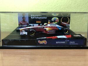 INLAY (FONDO DE PANTALLA) F1/WILLIAMS FW21-RALF SCHUMACHER (Leer Anuncio)