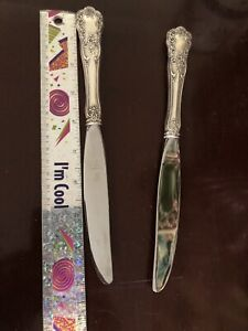 """Gorham Buttercup Sterling Silver Dinner or Luncheon Knife 9"""" Euc"""