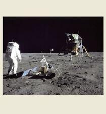 Apollo 11 Moon Walk Buzz Aldrin PHOTO MOON MISSION Lunar Module Eagle