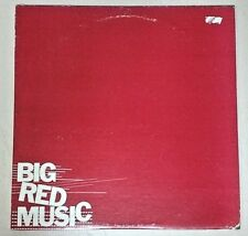 Big Red Music (1978 Promo Red Vinyl LP AS 536) Flint Boomtown Rats Phoebe Snow