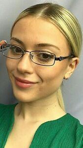 New COACH HC 0055  51mm Dark Silver Rx Women's Eyeglasses Frame