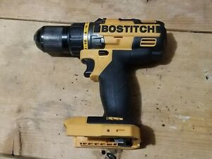 "Bostitch 18V Lithium 1/2"" Drill/Driver Model BTC400 Tool Only, Works Good"