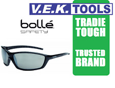 BOLLE PROWLER TRADESMANS SAFETY SUN GLASSES-SMOKE-Market Leader-ORIGINAL