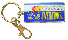 University of Kansas Jayhawks NCAA Logo Metal Key Chain