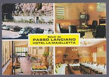 PASSO LANCIANO PRETORO CHIETI CARTOLINA HOTEL LA MAIELLETTA FG VG 1971