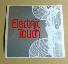 ELECTRIC TOUCH A LITTLE LOVE IN OUR HEARTS SILVER AMP GUITAR CASE RARE STICKER