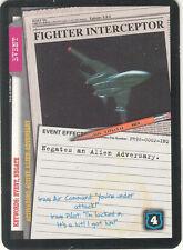 "X-Files CCG Promo - ""Fighter Interceptor"" #1 PR96-0002-INQ"