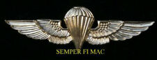 JUMP WINGS US MARINES ANGLICO RECON PIN UP PARACHUTE SPECIAL OPS MARINE NAVY WOW