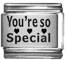 Clearly Charming You're So Special Laser Italian Charm