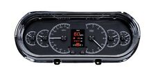 Dakota Digital 63 64 65 Chevy Nova Customizable Gauges Kit Black HDX-63C-NOV-K