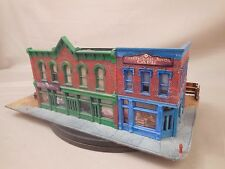 HO SCALE STRUCTURE LAYOUT BUILDING LOT 771 STORE FRONT DIORAMA