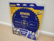 IRWIN 305MM X 30MM 48T TCT NEG 5* RAKE MITRE TABLE SAW BLADE 1897465