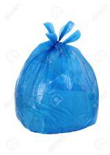 Toughbag 33 Gallon Trash Bags 100/case Garbage Bags 1.2 Mil (Blue)