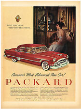Vintage 1953 Magazine Ad Packard Most Advanced Car / Libby's Sliced Pineapple