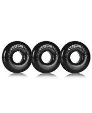 Oxballs Ringer 3-pack Black Set of 3 Cock Rings