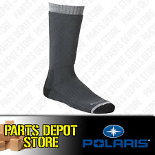 NEW PURE POLARIS LARGE GRAY ADVENTURE SOCK RZR RANGER ACE SPORTSMAN 286504206