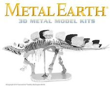 Fascinations Metal Earth Stegosaurus Dinosaur Skeleton 3D Model Kit