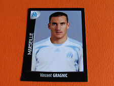 N°225 GRAGNIC  OLYMPIQUE MARSEILLE OM PANINI FOOT 2008 FOOTBALL 2007-2008