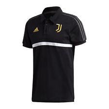 adidas Juventus Turin 3S Poloshirt Schwarz
