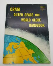 Vintage 1964 Cram's Outer Space and World Globe Handbook